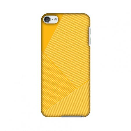 Carbon Fiber Ipod Touch Case - iPod Touch 6th Gen Case - Carbon Fibre Redux Cyber Yellow 1, Hard Plastic Back Cover, Slim Profile Cute Printed Designer Snap on Case with Screen Cleaning Kit