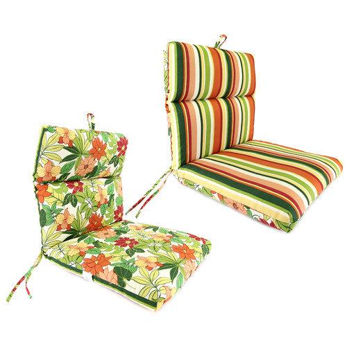 Jordan Manufacturing Universal Reversible Chair Cushion
