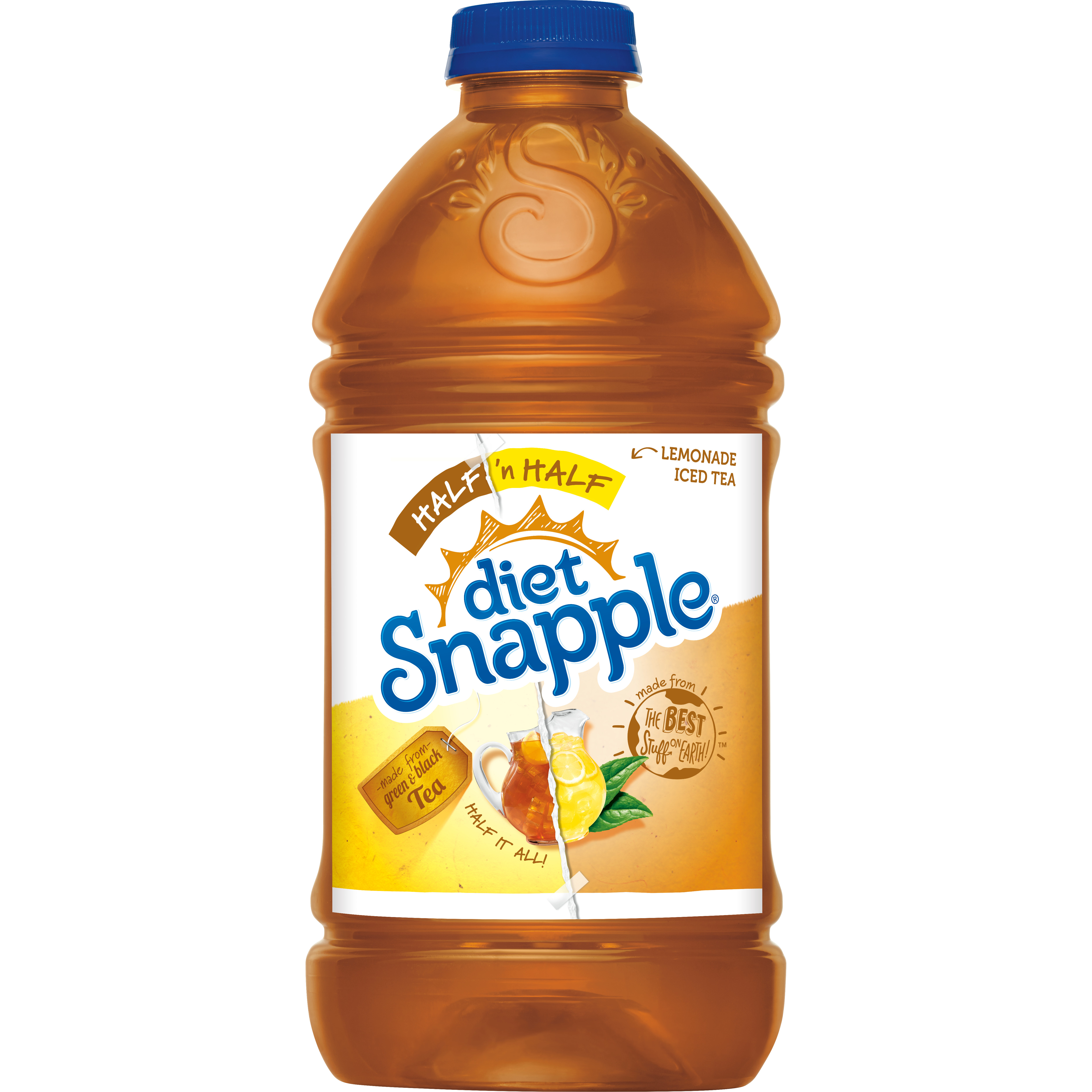 Diet Snapple Half 'n Half, 64 fl oz