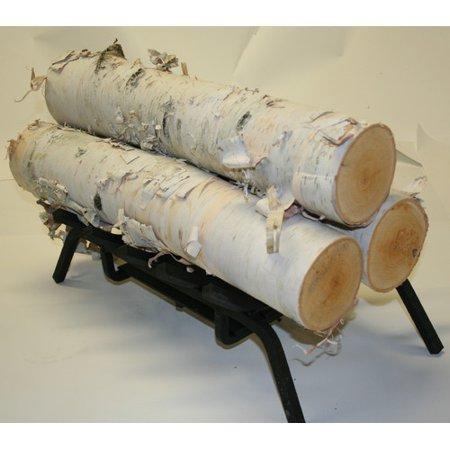 Wilson Enterprises Inc Birch Logs Set Of 3