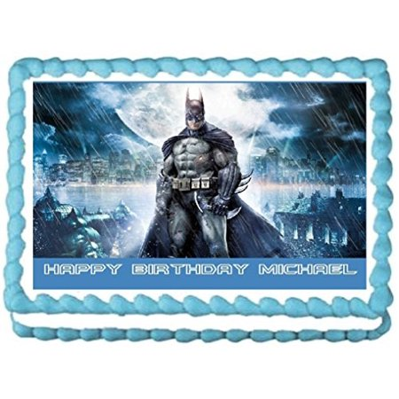Batman Edible Frosting Sheet Cake Topper - 1/4 Sheet