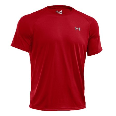 Under Armour 1228539 Men's Red Tech Short Sleeve T-Shirt - Size (Under Armour Tech Tee)