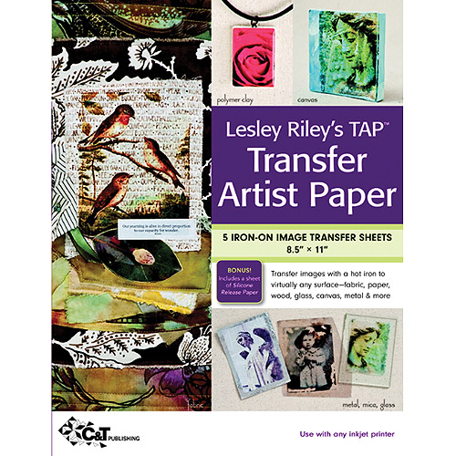 "C&T Publishing Transfer Artist Paper, 8-1/2"" x 11"", 5/pkg"