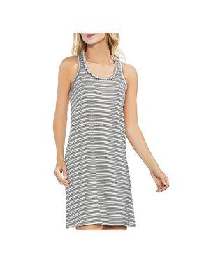 Vince Camuto Womens Tropic Heat Knee-Length Striped Tank Dress