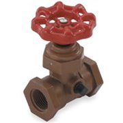 KBI SWL-0750-T Stop and Waste Valve, 3/4 in, FIPT, 150 psi, Acetal Co-Polymer