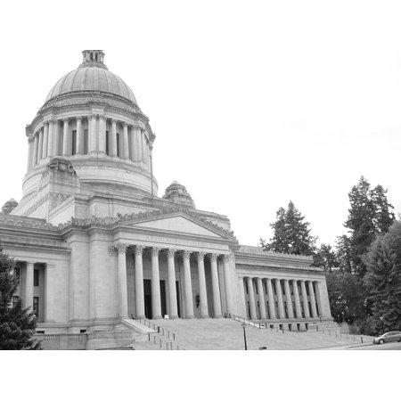 Canvas Print Building Architecture Legislative Building Capitol Stretched Canvas 10 x (Legislative Building)