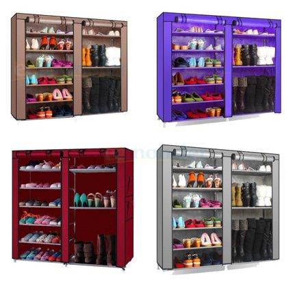 Craft Room Organizers (Ktaxon Portable Shoe Rack Boot Shelf Shelves Storage Closet Organizer Cabinet w/)