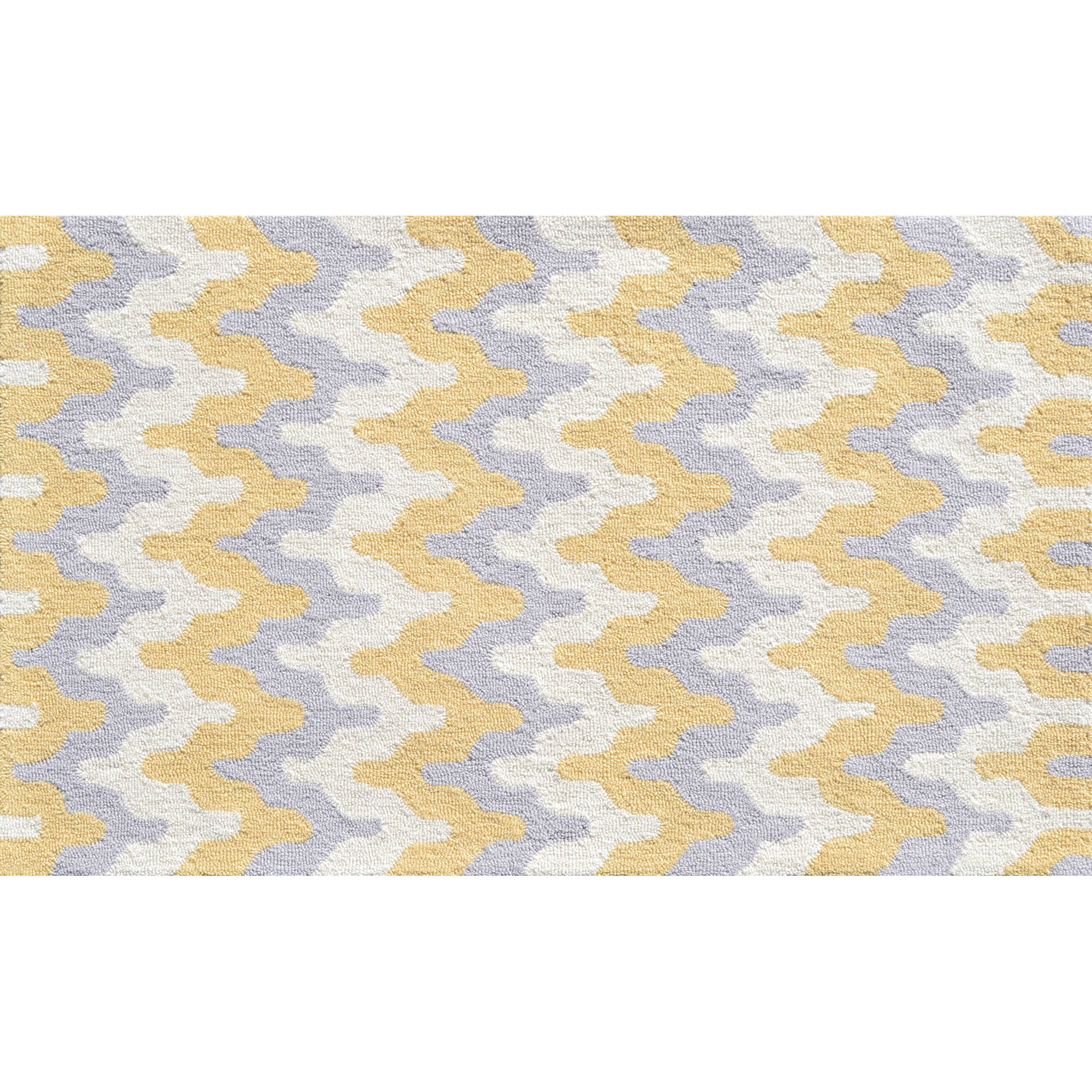 The Rug Market Surge Area Rug, Yellow, 4.7' x 7.7'