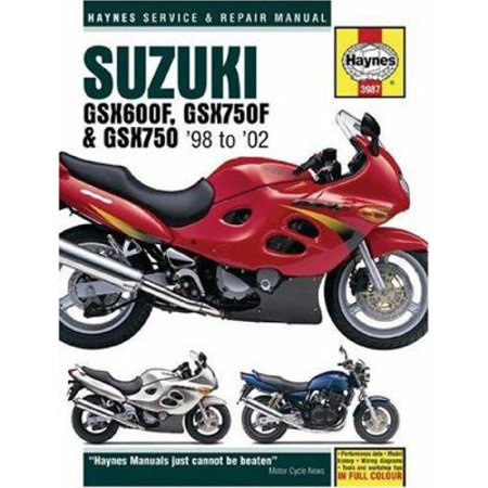 Suzuki GSX600F, GSX750F & GSX750: Service and Repair Manual