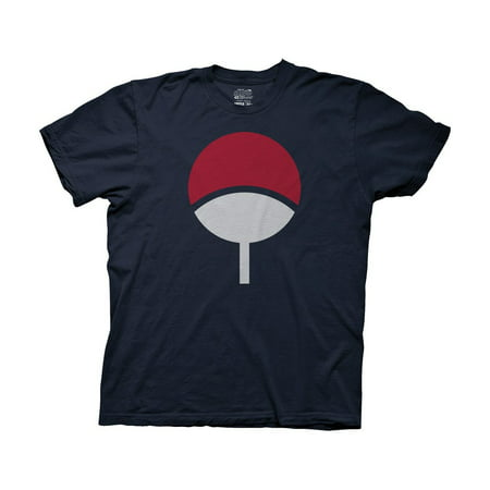 Naruto Shippuden T-Shirt - Sasuke Uchiha Symbol
