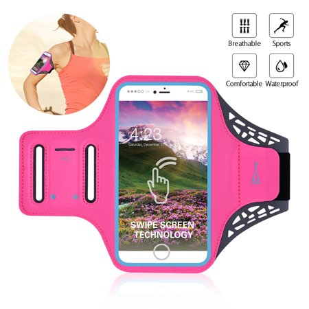 TSV Armband Case Sports Gym Running Jogging Exercise Arm Band Phone Holder Key Bag (Set It Off Band Phone Case)