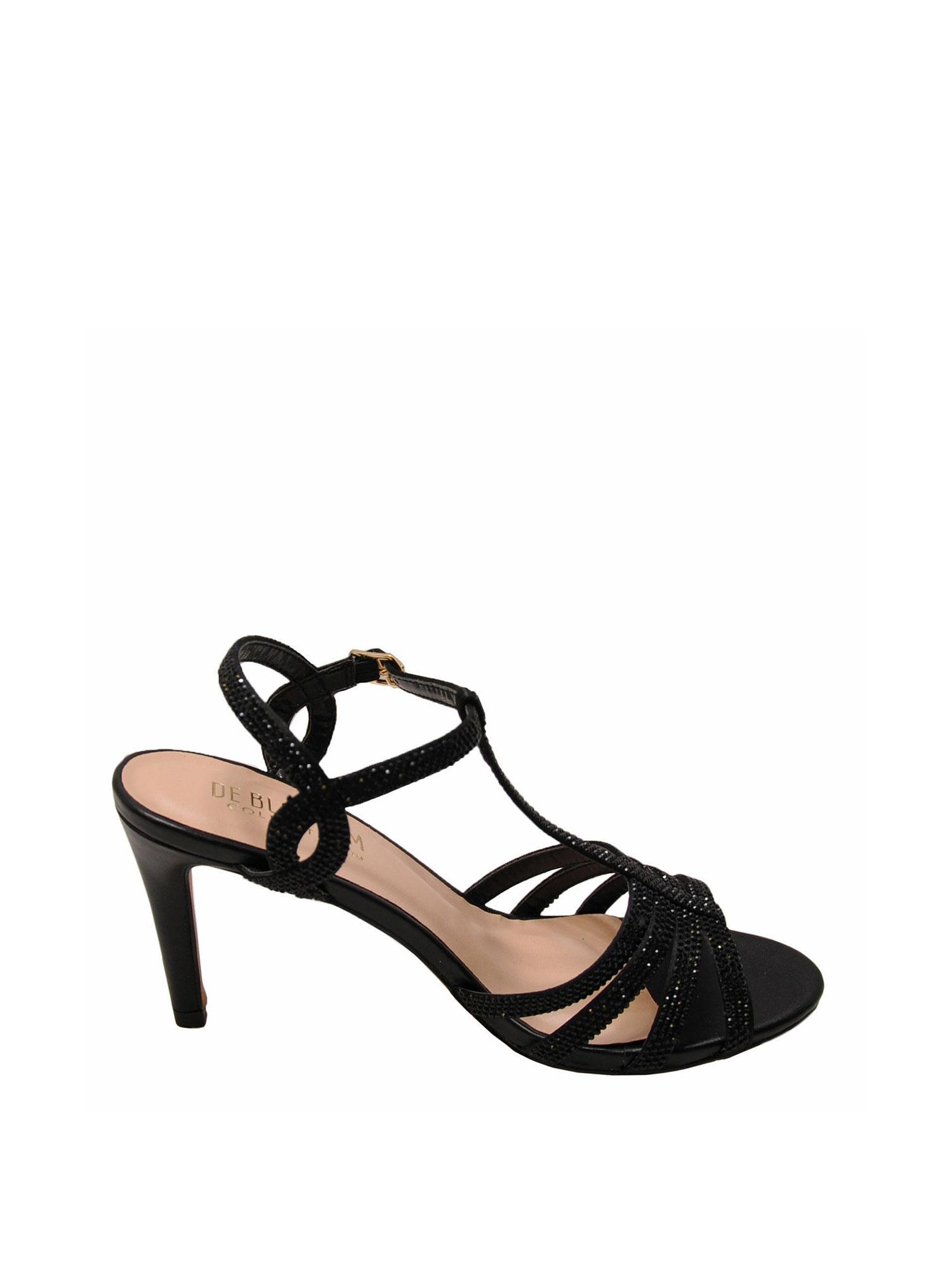 Blossom Rita 3X Ivory Women/'s T-Strap Embellished Formal Heels