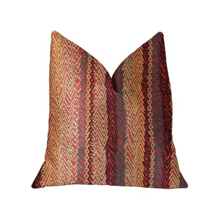 Plutus PBRA2309-1220-DP Red Cosmo Multicolor Luxury Throw Pillow, 12 x 20 in. - image 3 of 3