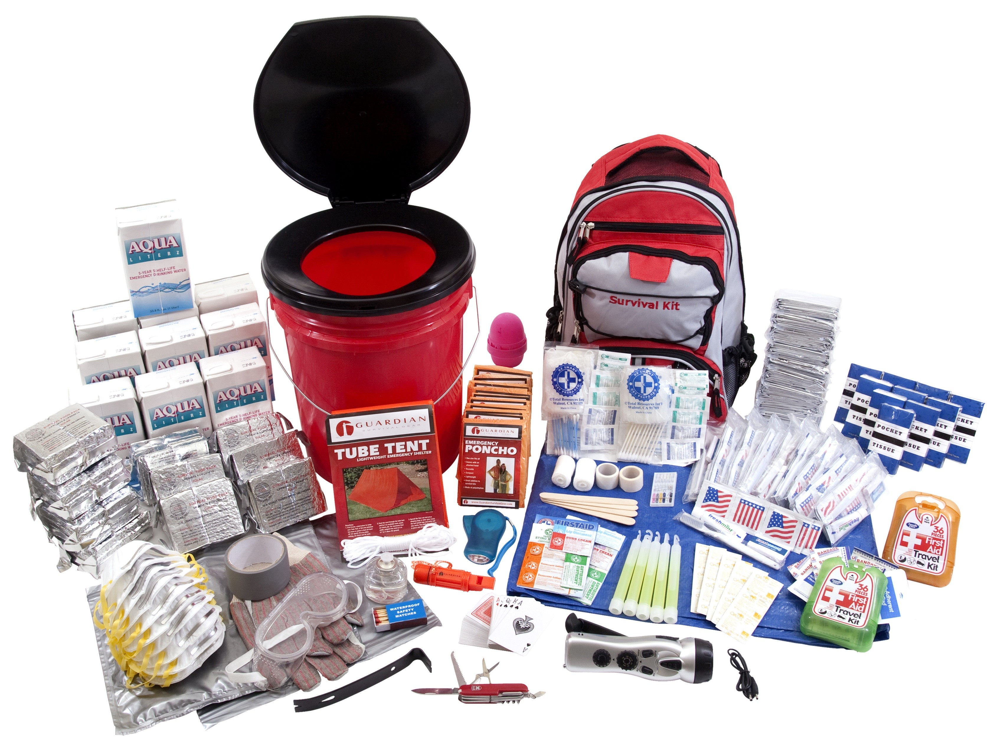 Guardian OKTP Deluxe Survival Kit 10 Person by Guardian Survival Gear