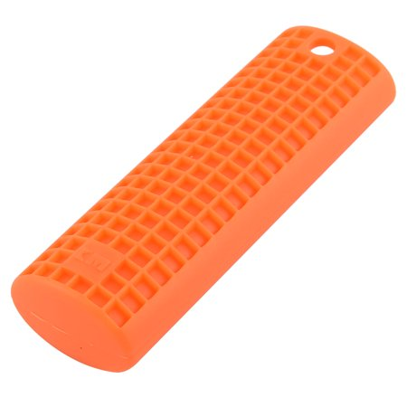 Unique Bargains Silicone Non-slip Pot Handle Heat Resistant Pad Cover
