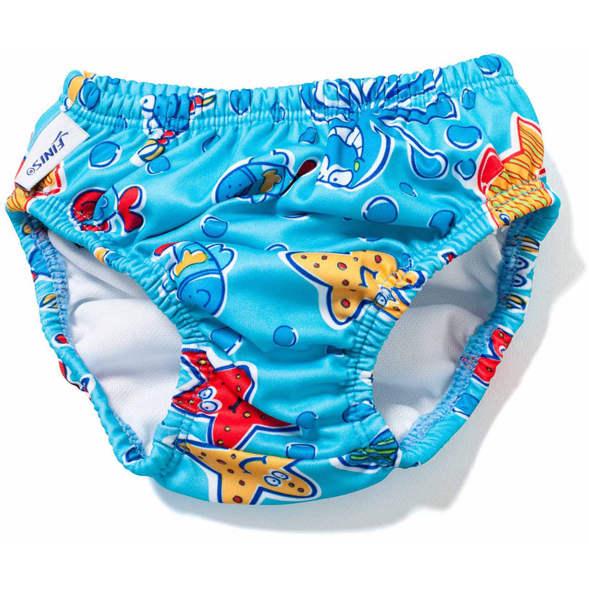 FINIS Reusable Swim Diaper - Blue Octopus