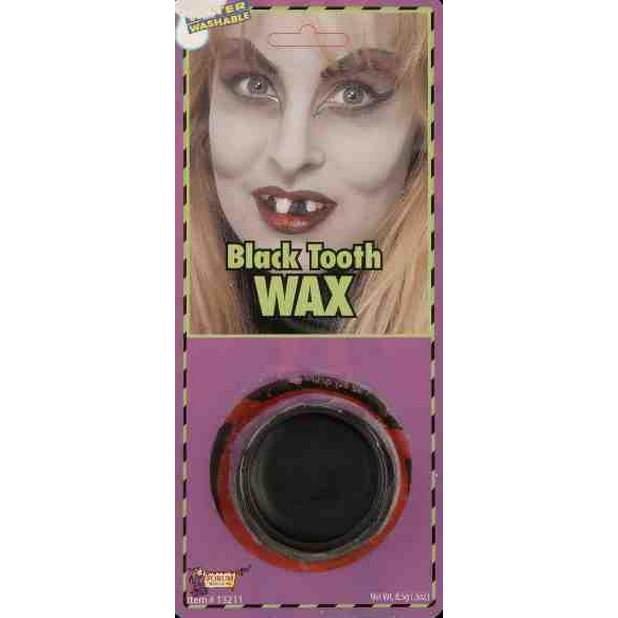 Black Tooth Wax Makeup Water