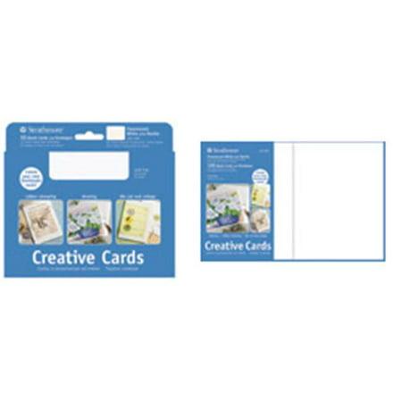 Strathmore 105130 10 Pack Cards & Envelopes Ivory & Deckle