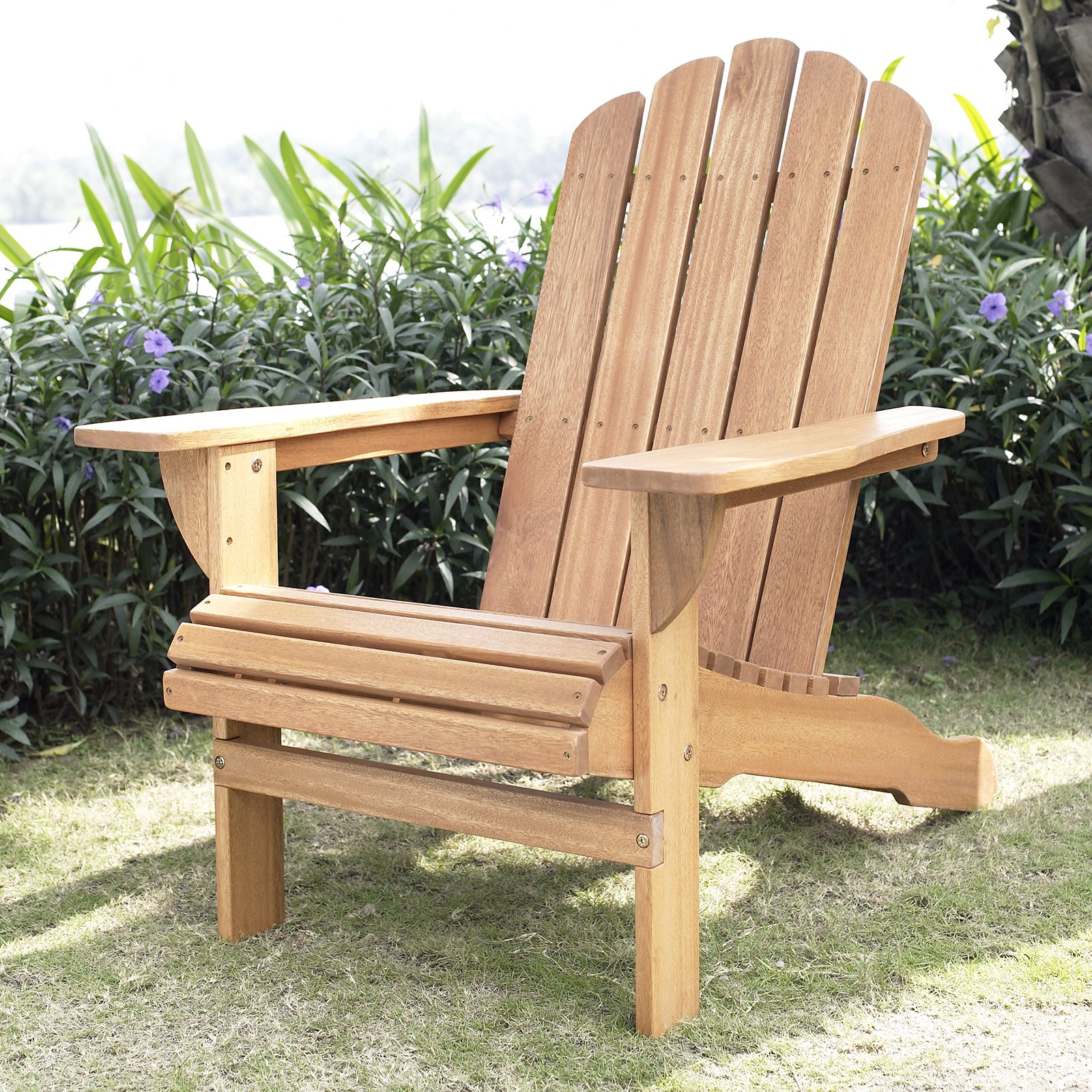 & Belham Living Shoreline Adirondack Chair - Natural - Walmart.com