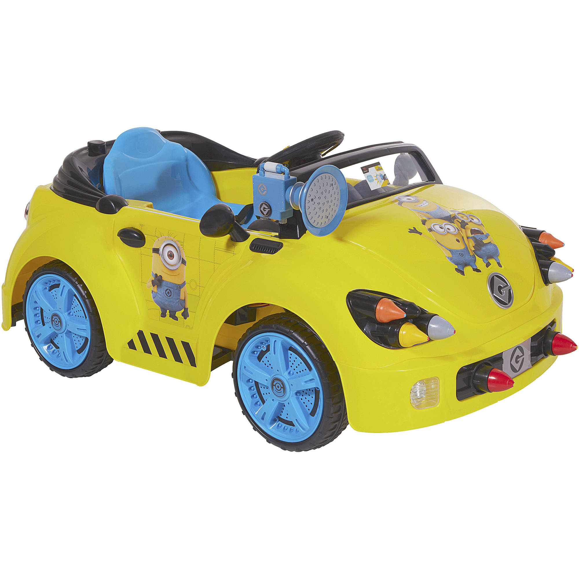 Dynacraft Minions Rocket 6v Battery Powered Car Walmart Com