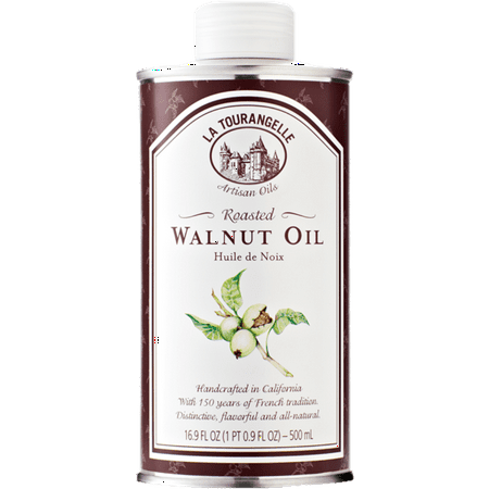 169 Walnut (La Tourangelle, Roasted Walnut Oil, 16.9 fl oz (500)