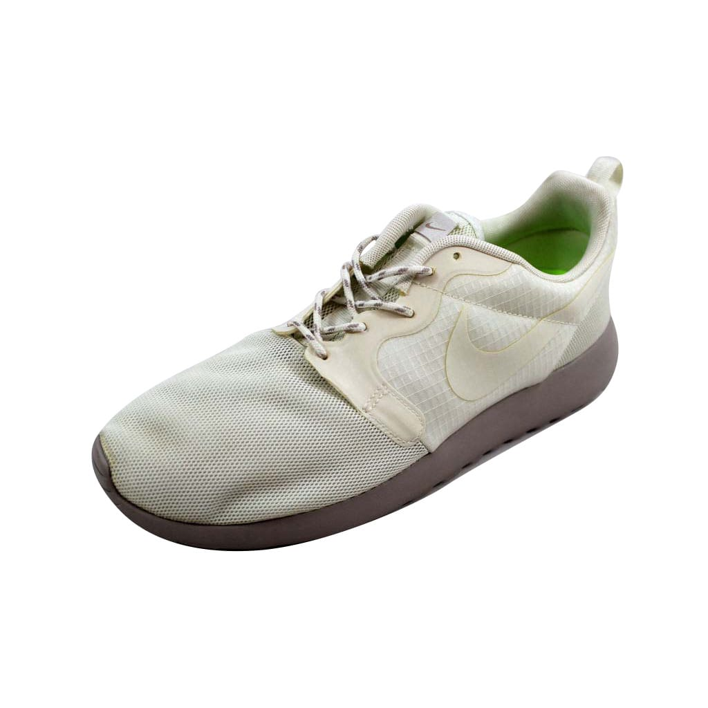 Nike Women's Rosherun HYP Sail/Sail-Medium Orewood Brown-Volt 642233-100 Size 11