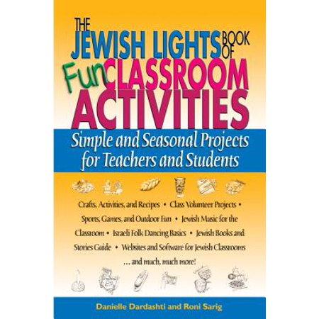The Jewish Lights Book of Fun Classroom Activities (Paperback) (Fun Classroom Activities For Halloween)