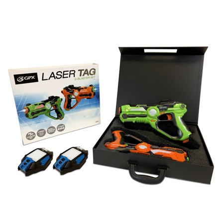 GPX Laser Tag Value Bundle with 2 Blasters and 2