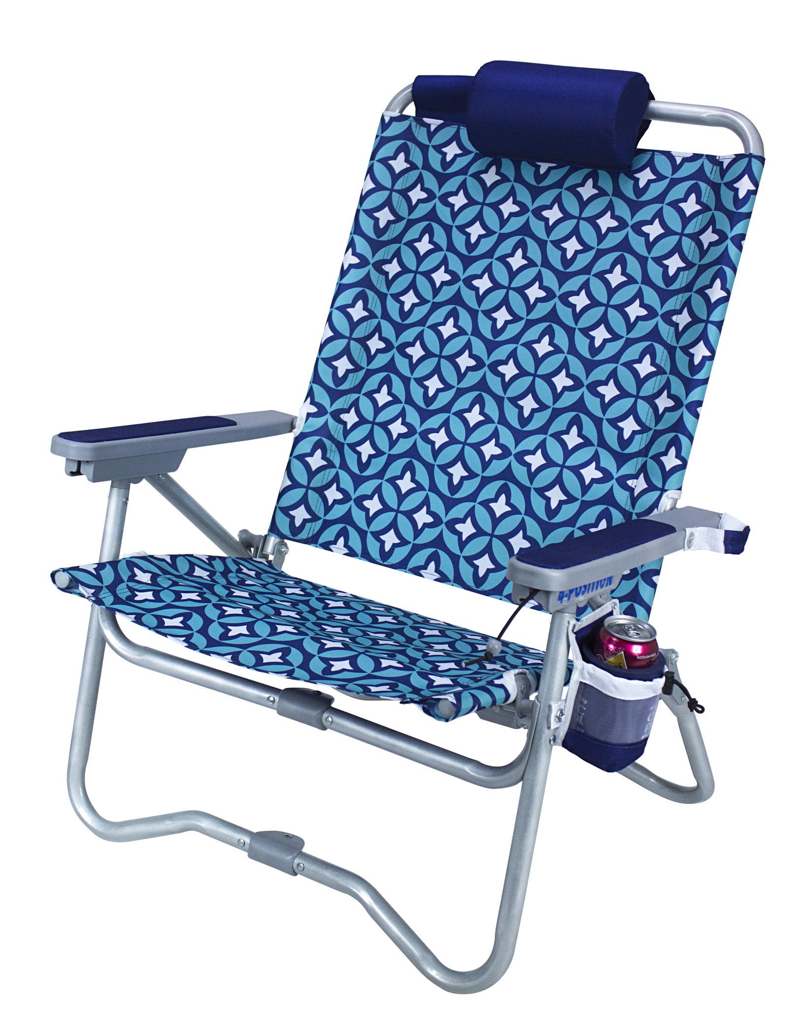 GCI Waterside Bi-Fold Beach Chair, Laguna - Walmart.com