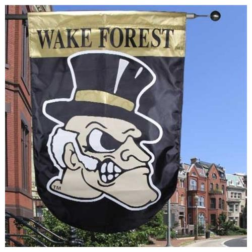 Wake Forest University Outdoor Applique House Flag