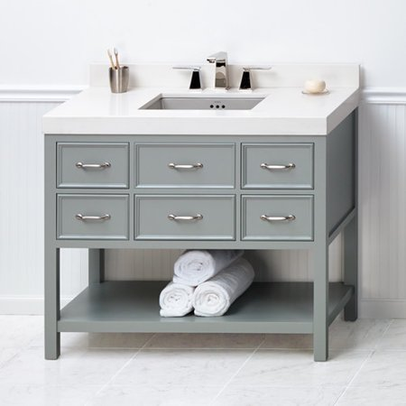 ronbow newcastle 42 39 39 single bathroom vanity base