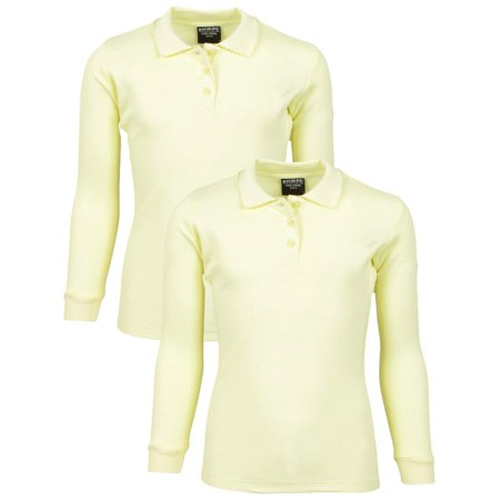 Star Fleet Uniforms (Girls' School Uniform 2 Pack Long Sleeve Cotton Interlock)
