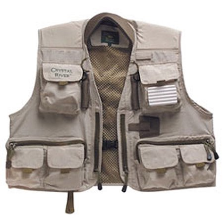 crystal river deluxe fishing vest
