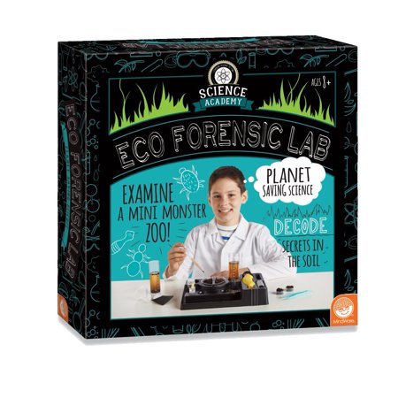 Science Academy: Eco Forensics Lab, TOYS THAT TEACH: This science kit from MindWare makes it easy, safe and fun to learn about the hidden dangers facing.., By MindWare (Mindware Toys)