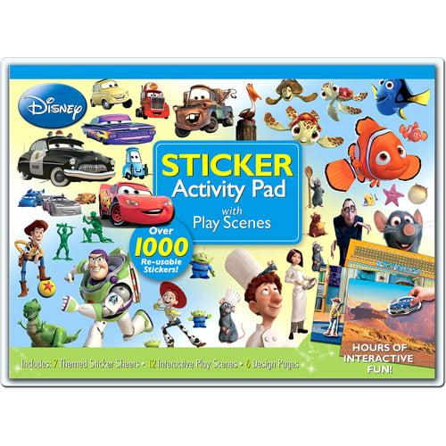 Disney Pixar Sticker Activity Pad With P