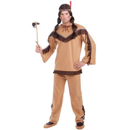 Mens Native American Brave Halloween Costume