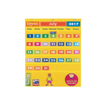 Excellerations Classroom Calendar & Weather Center (Item # CALSET) - Classroom Items