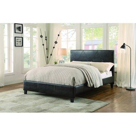 Homelegance Deleon Upholstered Platform Bed