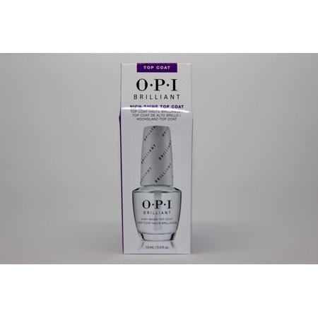 - OPI- Nail Lacquer- Brilliant Top Coat     1/2 FL OZ