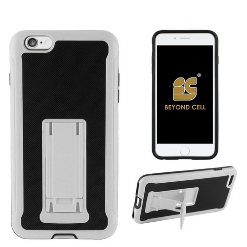"C&E Shell Case ""Hybrid"" V4 For Apple iPhone 6 Plus White PC/Black TPU"