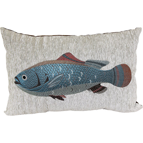Better Homes and Gardens Oblong Fish Decorative Pillow, Multi-Color