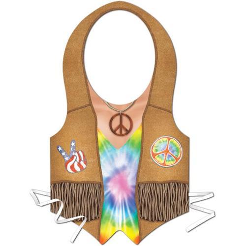 DDI 986119 Plastic Hippie Vest  Case of 24