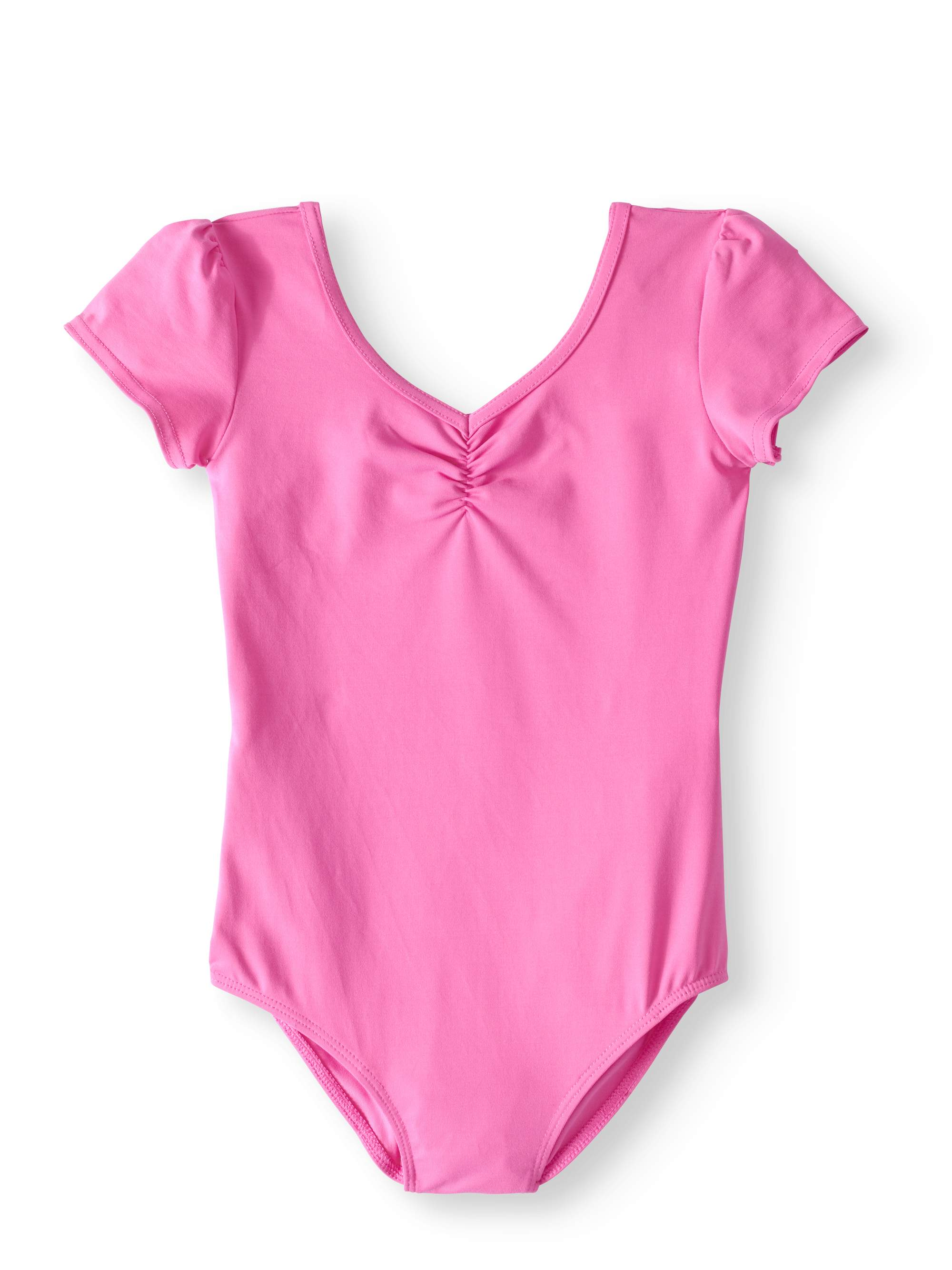 Girls' Short Sleeve Premium Dance Leotard
