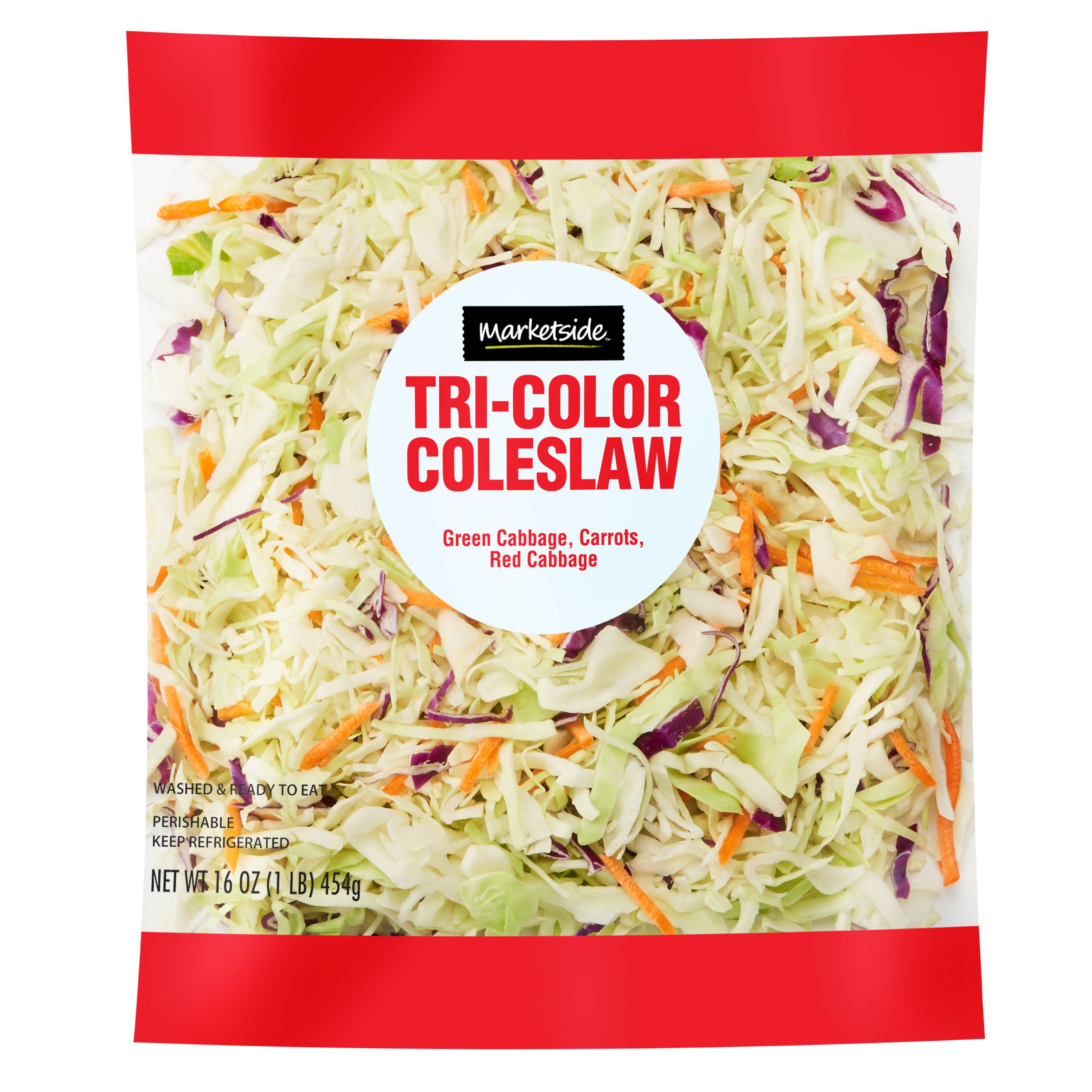 Marketside Tri-Color Cole Slaw, 16 oz