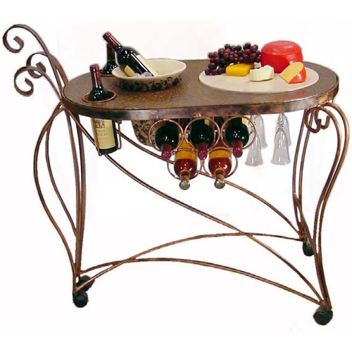 Metrotex Designs Bird of Paradise Bar Cart