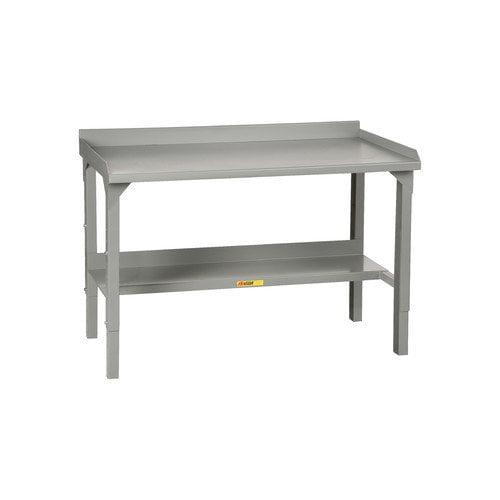 Little Giant USA Welded Stationary Height Adjustable Steel Top Workbench