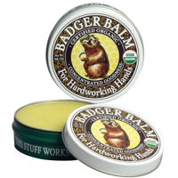 Organic Healing Balm Tin, 0.75 OZ, Ultra-rich, ultra-moisturizing balm that smooths and softens the most chapped, cracked, rough, or weathered skin. By Badger