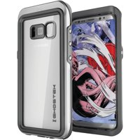 Ghostek Ghocas617 Atomic 3 Waterproof Case For Samsung Galaxy S 8+ (silver)
