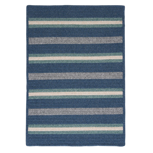 Colonial Mills Salisbury Blue Striped Area Rug