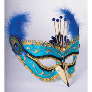 MASK-PEACOCK-ONLY - Peacock Masks